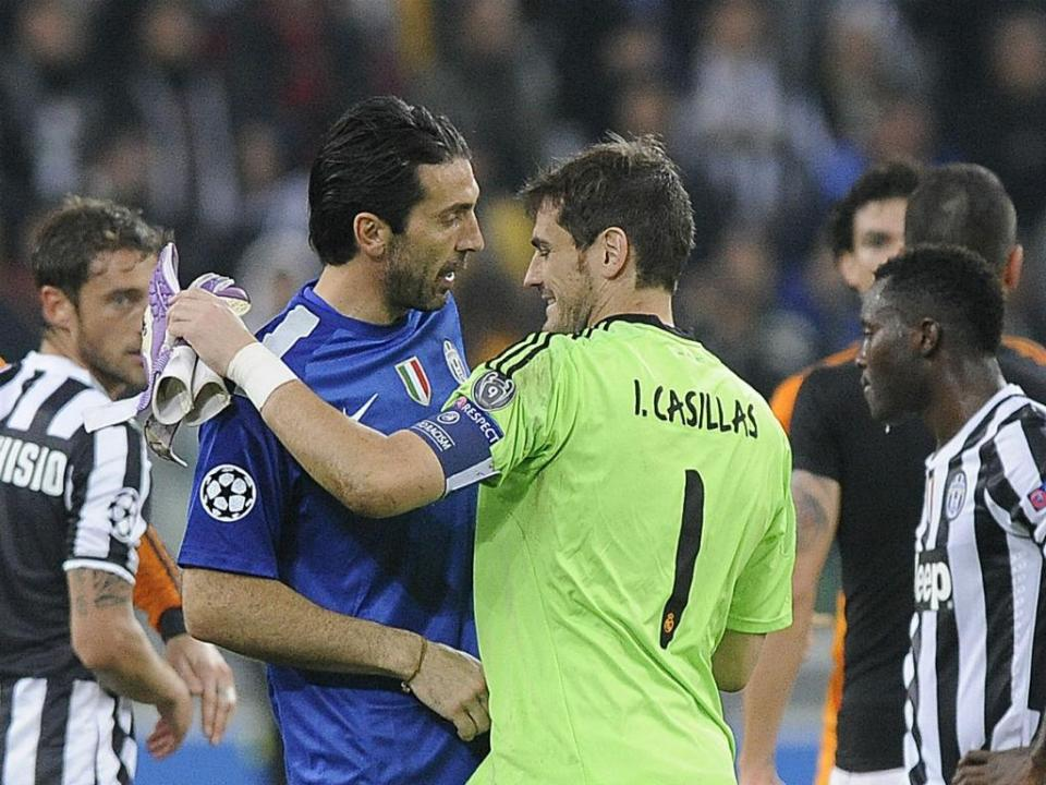 Casillas deixa mensagem a Buffon: «Mereces tudo de bom»