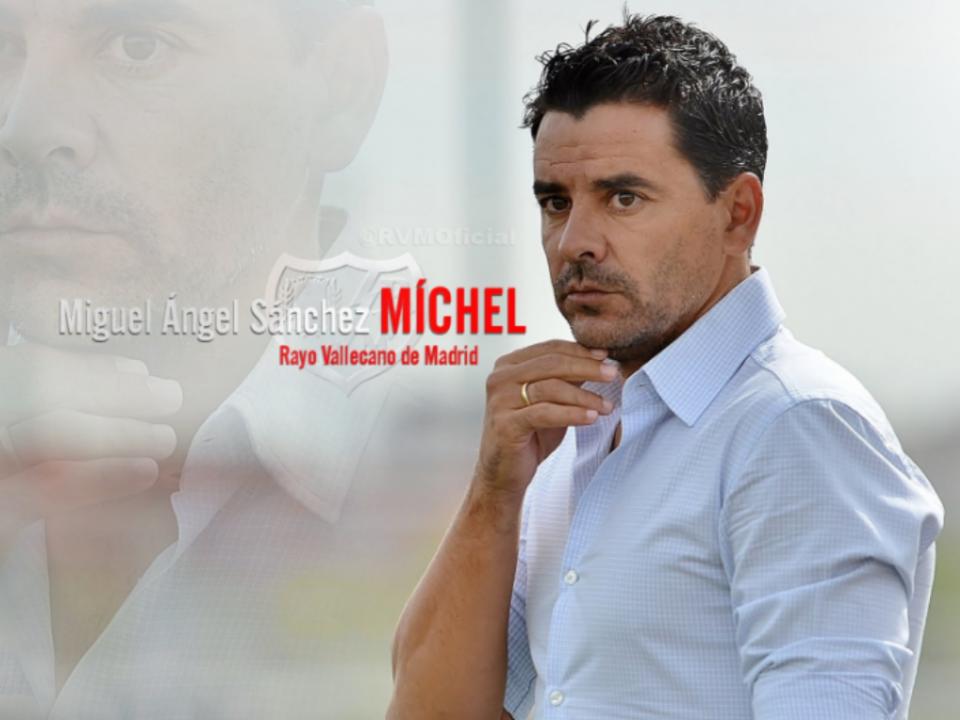 OFICIAL: Míchel sobe com o Rayo Vallecano à Liga espanhola