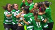 Futebol feminino: o penálti que deu a vitória ao Sporting