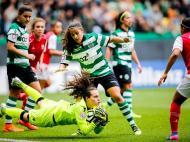 Futebol Feminino: Sporting-Sp. Braga (André Sanano/FPF)
