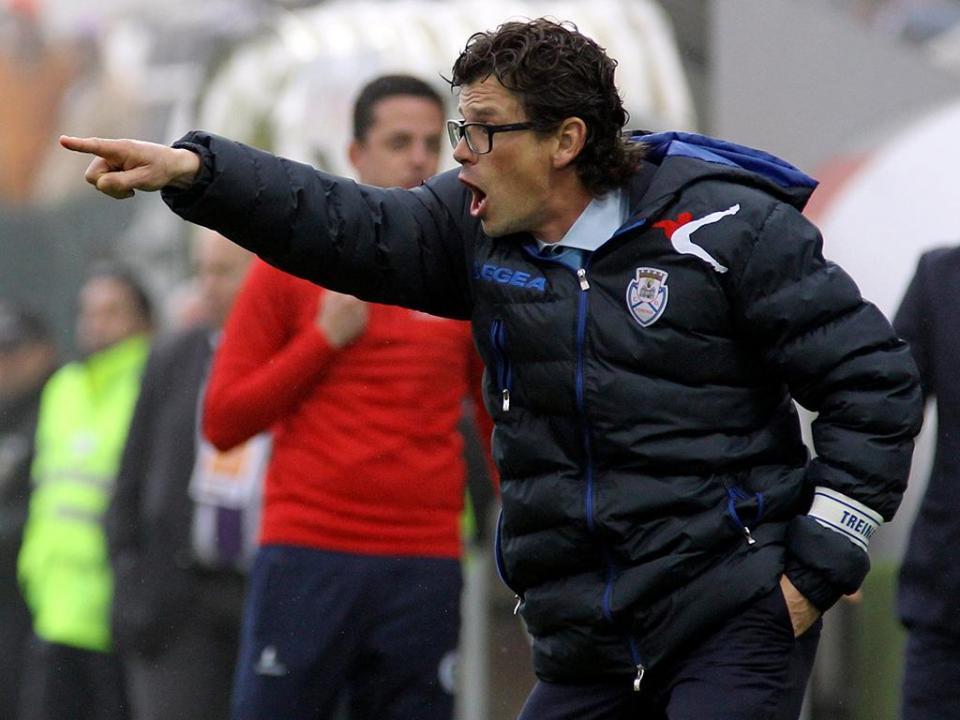 Nuno Manta: «O Feirense quer celebrar os 100 anos na I Liga»