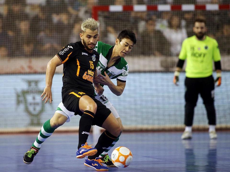 Futsal: Sporting nas meias-finais da Taça de Portugal