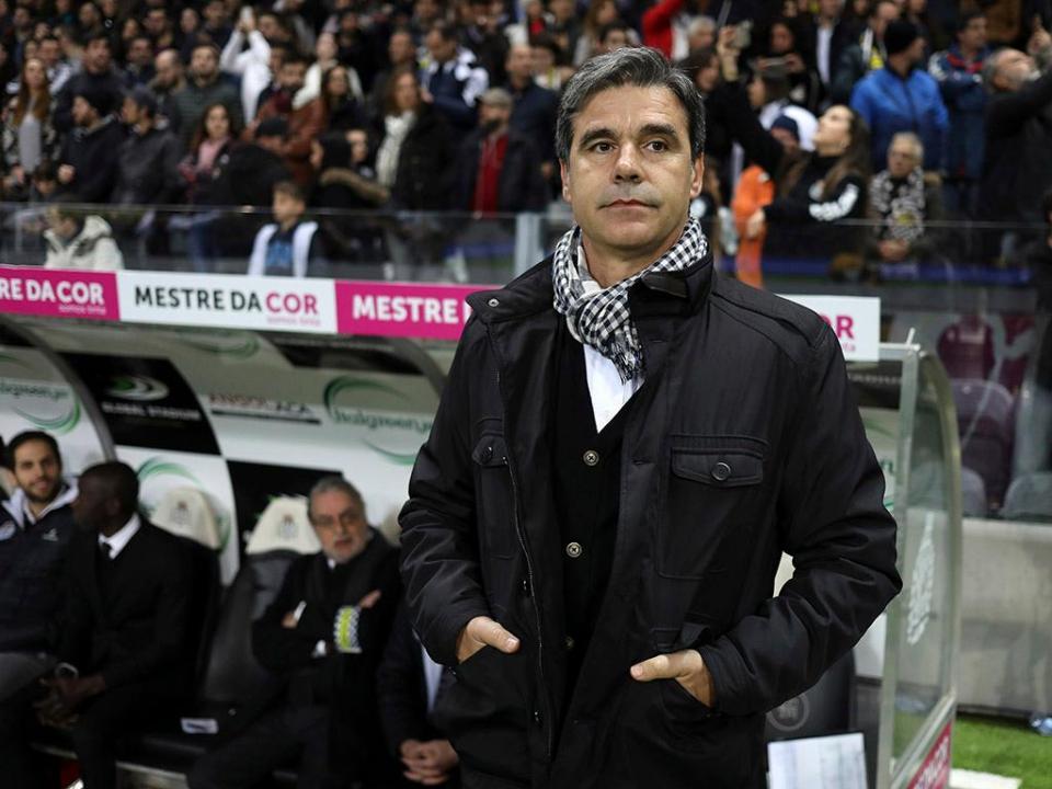 Miguel Leal: «Equipa está a fazer campeonato acima das expetativas»