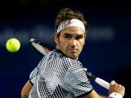 Ténis: Roger Federer bate Benoit Paire no Dubai