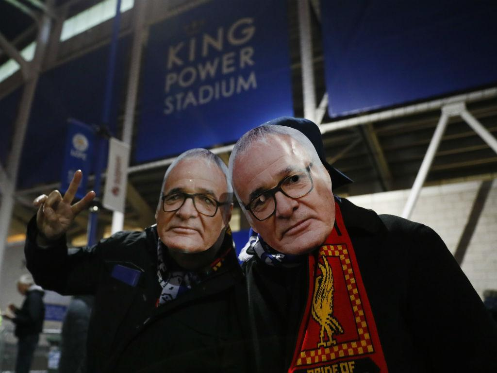 Fizeram o funeral ao futebol antes do Leicester-Liverpool