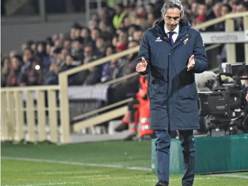 Paulo Sousa frustrado: «Fiorentina merecia mais pontos»
