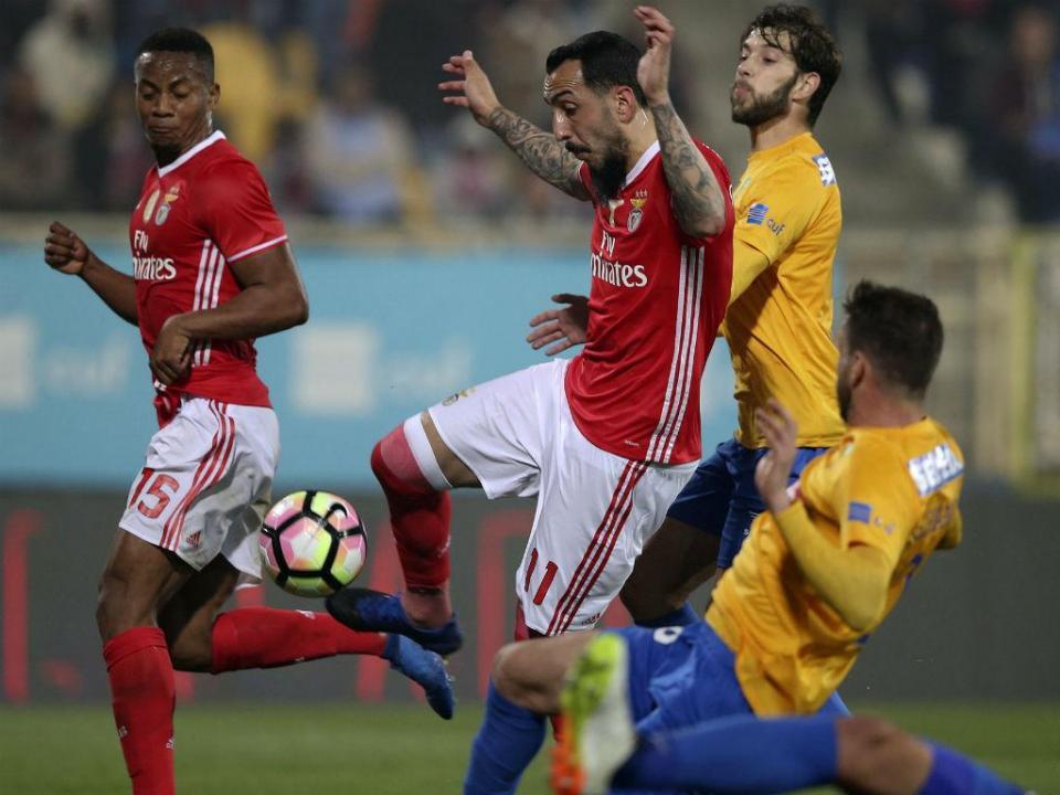 Taça de Portugal: Rui Costa apita Benfica-Estoril