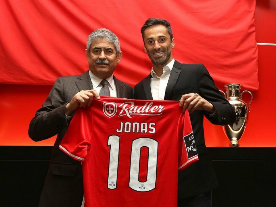 Benfica: irmão de Jonas revela detalhes da renovação