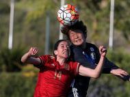 Futebol Feminino: Japão-Espanha (Lusa)