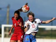 Futebol Feminino: Portugal-Rússia (Lusa)