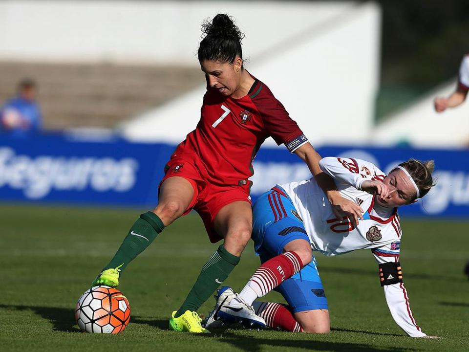 Futebol Feminino  Portugal perde amigável frente ao País de Gales ... 5ff225e33e8c5