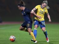 Futebol Feminino: Austrália-Suécia (Lusa)