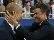 Luís Enrique e Guardiola