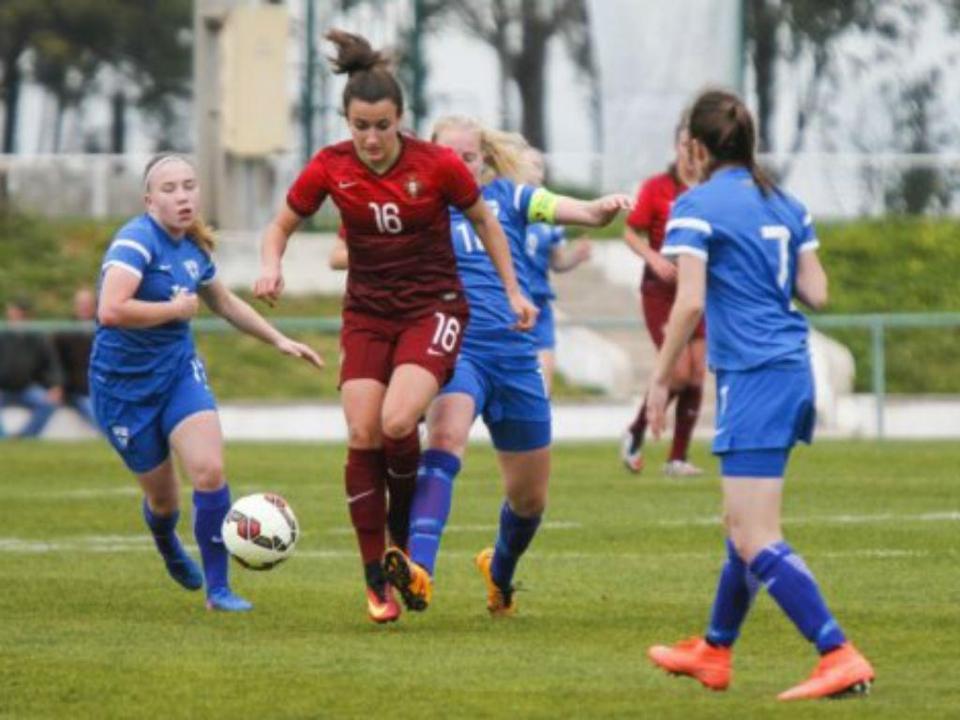 Futebol Feminino: Portugal vence Finlândia em sub-19