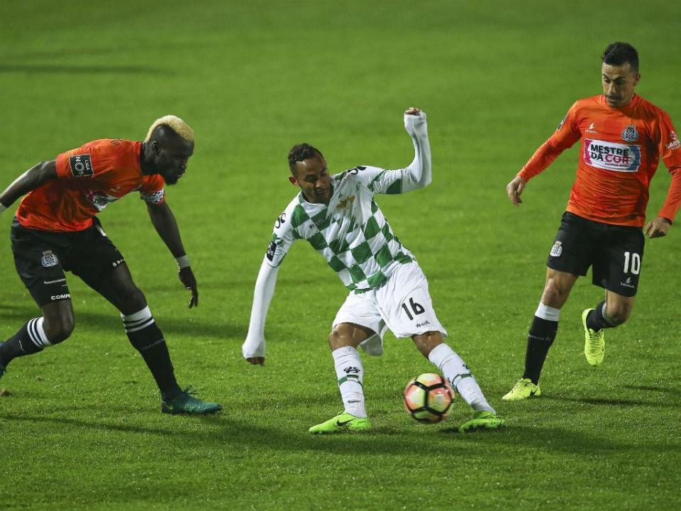 Moreirense-Boavista, 0-0 (resultado final)