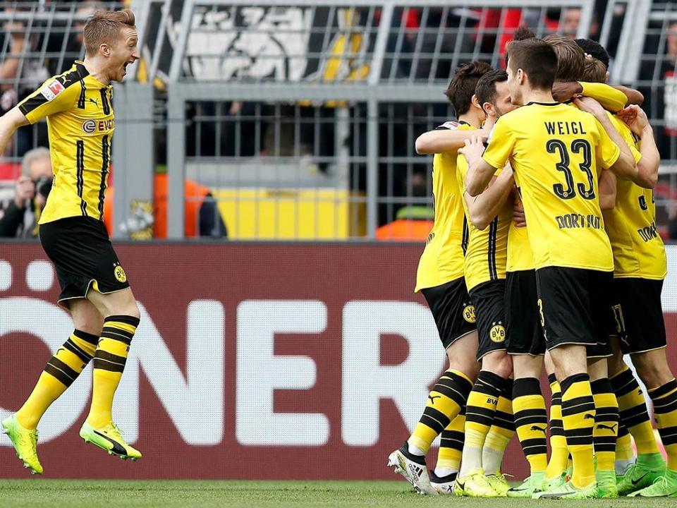 B. Dortmund goleia mas perde Reus antes de receber o Benfica
