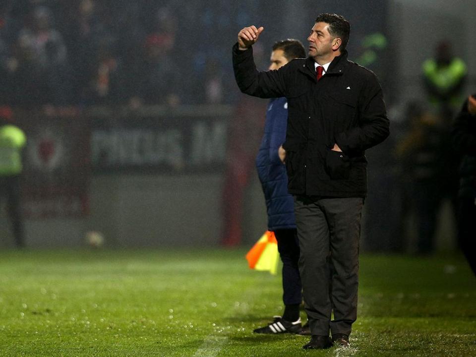 Benfica observa o P. Ferreira antes de visitar a Mata Real