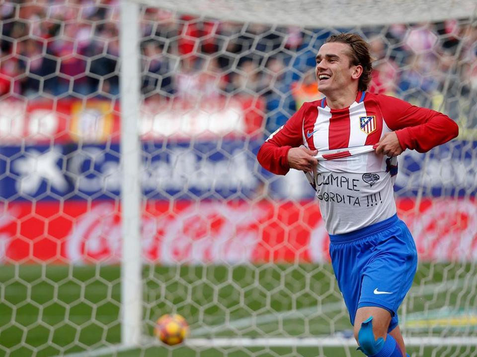 At. Madrid: Griezmann paga 600 euros por mensagem para a «gordita»