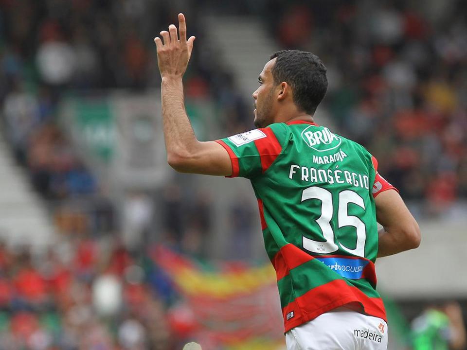 «Decisão administrativa» afasta Fransérgio do jogo com o Sp. Braga