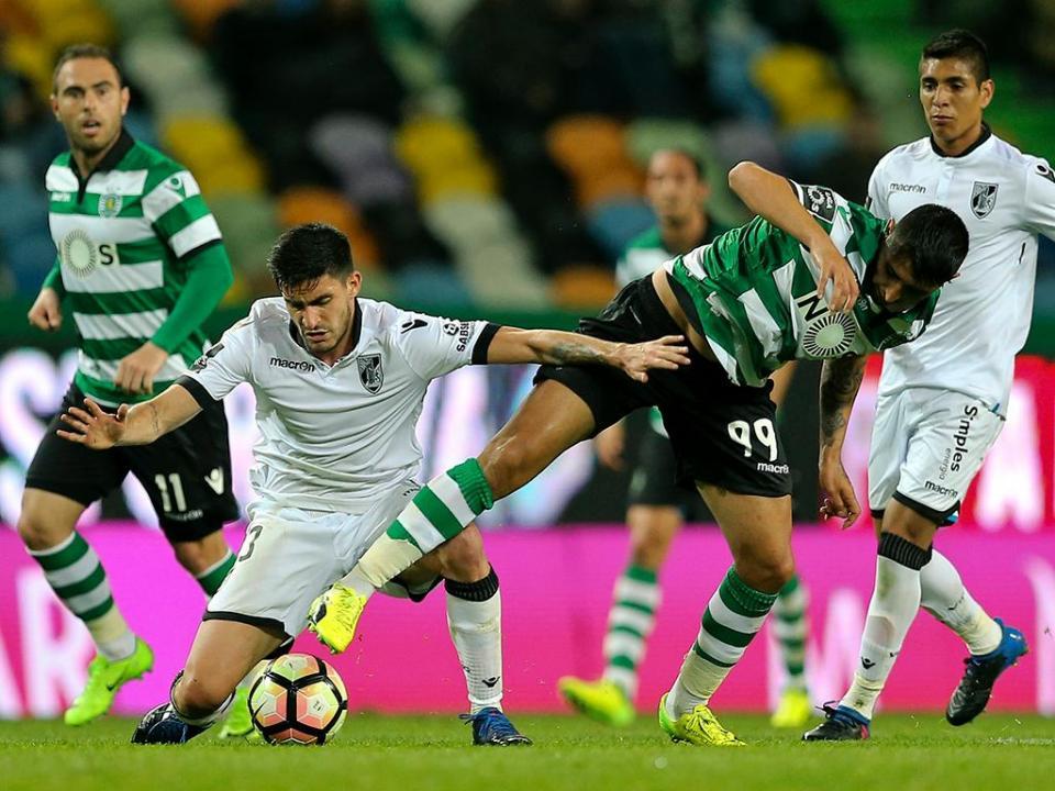 Sporting-V. Guimarães, 1-1 (resultado final)