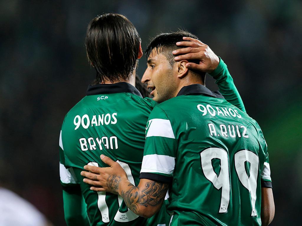 Bryan Ruiz não entra nas contas de Jorge Jesus — Sporting