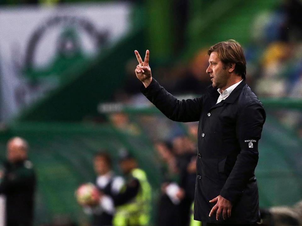 Pedro Martins: «Ao intervalo pensámos que podíamos sair com a vitória»