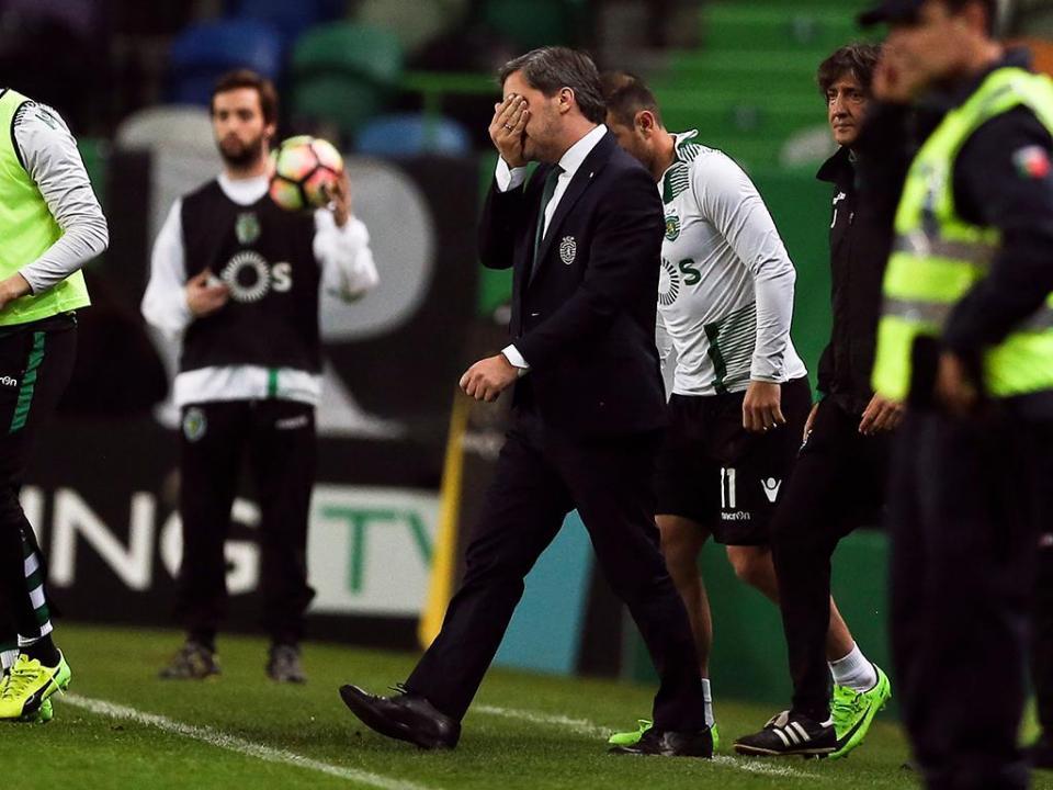 O insulto de Bruno de Carvalho ao próprio Sporting