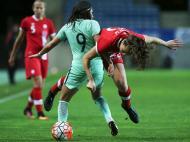 Futebol Feminino: Portugal-Canadá (Lusa)