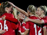 Futebol Feminino: Rússia-Dinamarca (Lusa)
