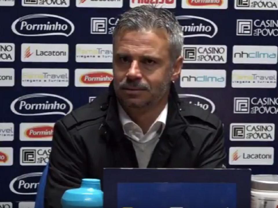 VÍDEO: bate-boca do treinador do Sp. Covilhã com jornalistas