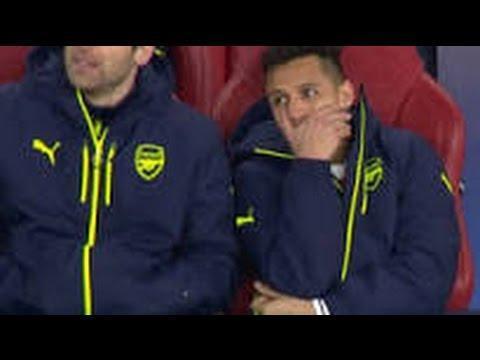 VÍDEO: Alexis Sanchez apanhado a rir após o Bayern fazer 5-1