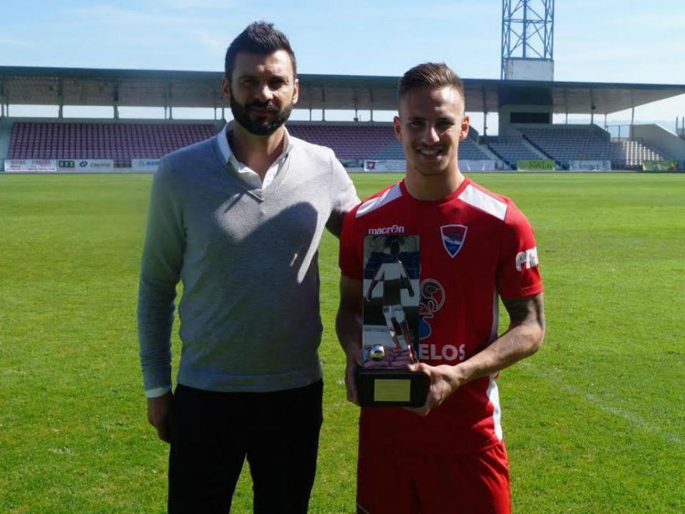 II Liga: Sandro e Reko recebem prémios de Melhor Jovem