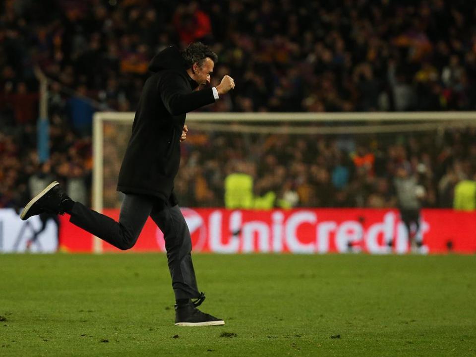 Luis Enrique: «Foi a fé! A nossa equipa acredita no impossível»