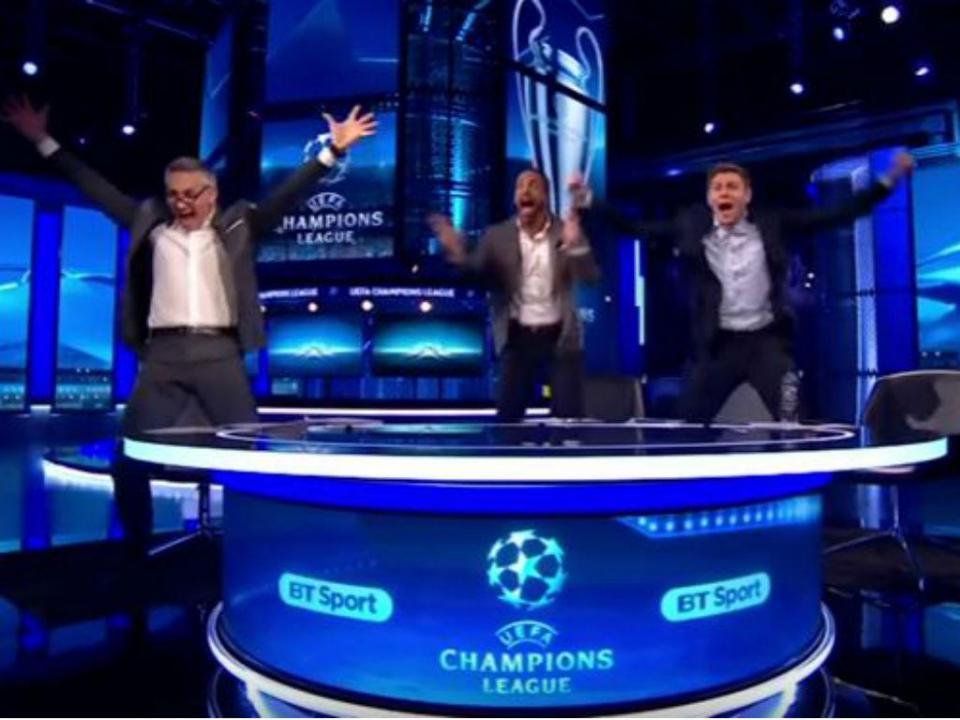 VÍDEO: Lineker, Ferdinand, Gerrard e Owen eufóricos com «milagre» do Barça