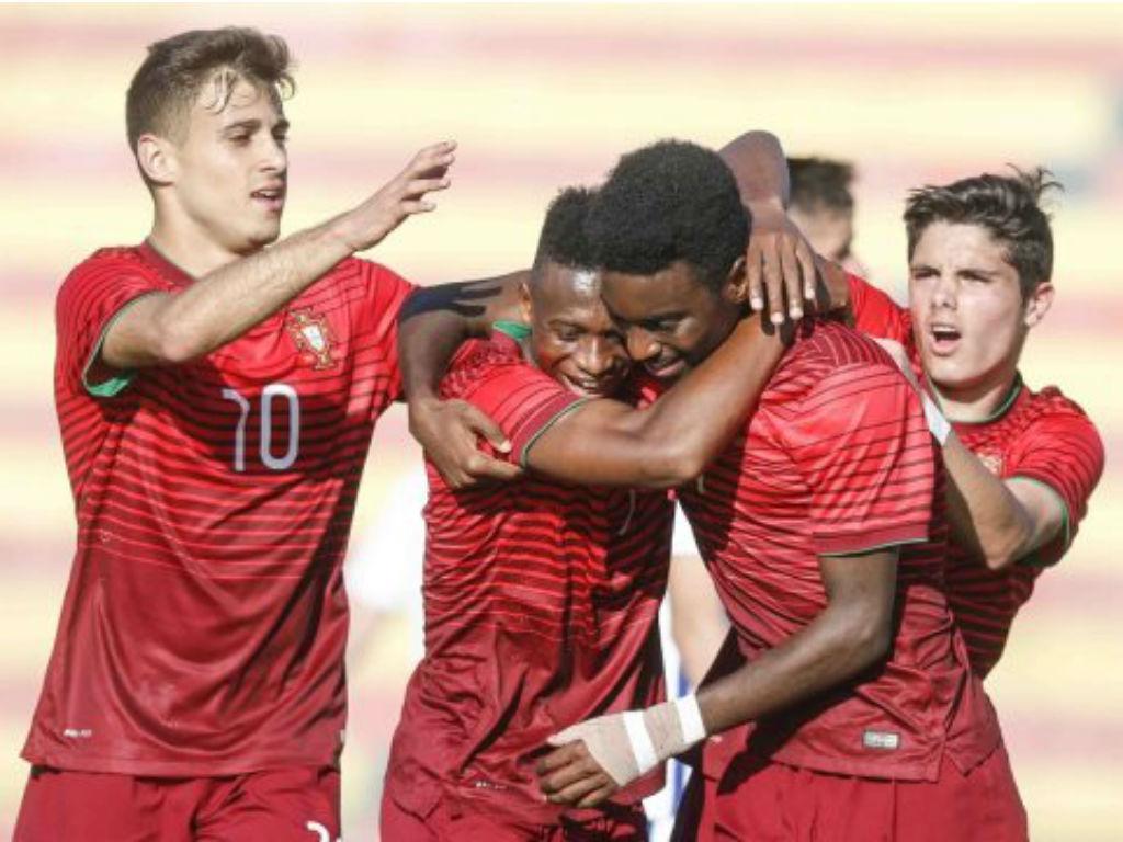 Sub-17: oito golos e Portugal vence Rússia no Torneio de Inglaterra