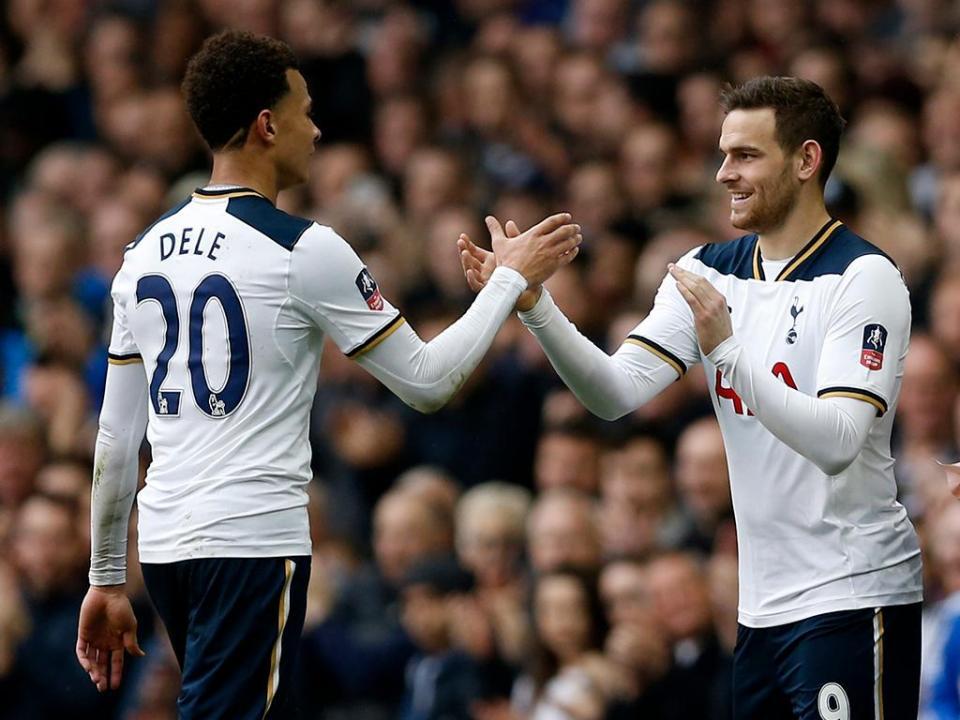 Tottenham perdia 1-0 aos 88 minutos. Ganhou 1-3