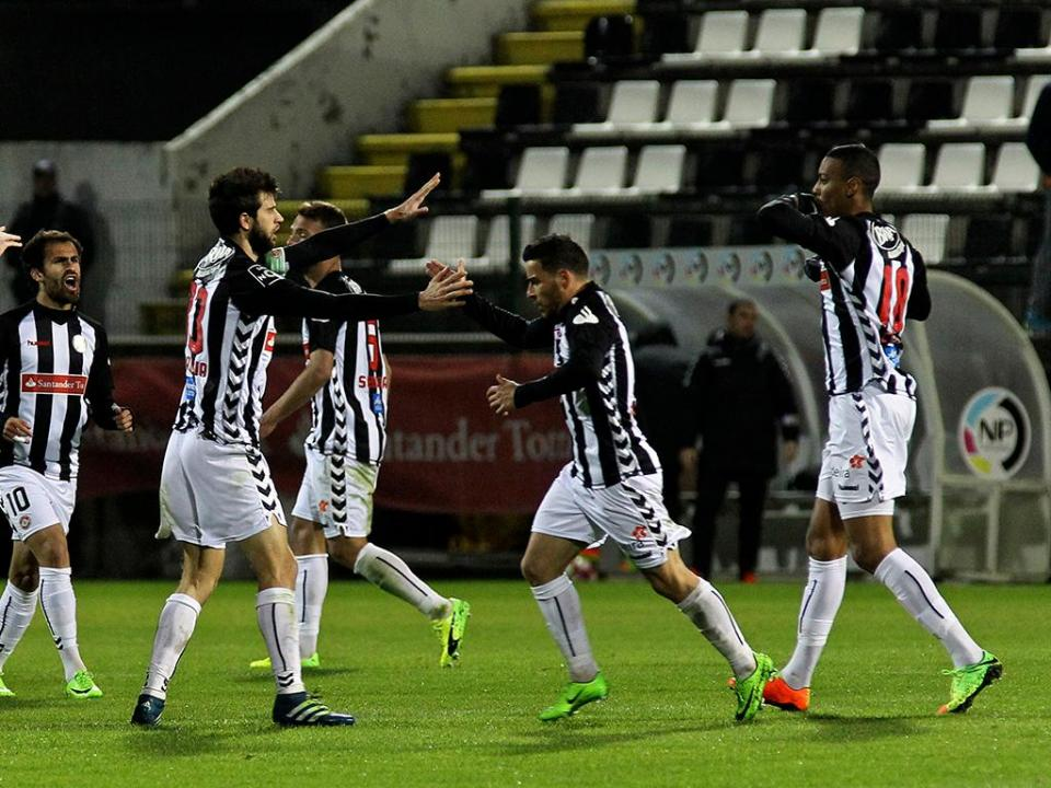 II Liga: Gil Vicente alcança empate na Madeira a três minutos do fim