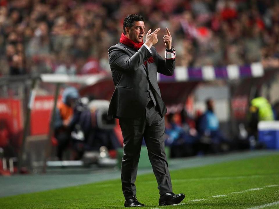 Rui Vitória: «Começámos o jogo muito fortes»