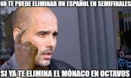 Os melhores memes da eliminação do City de Guardiola