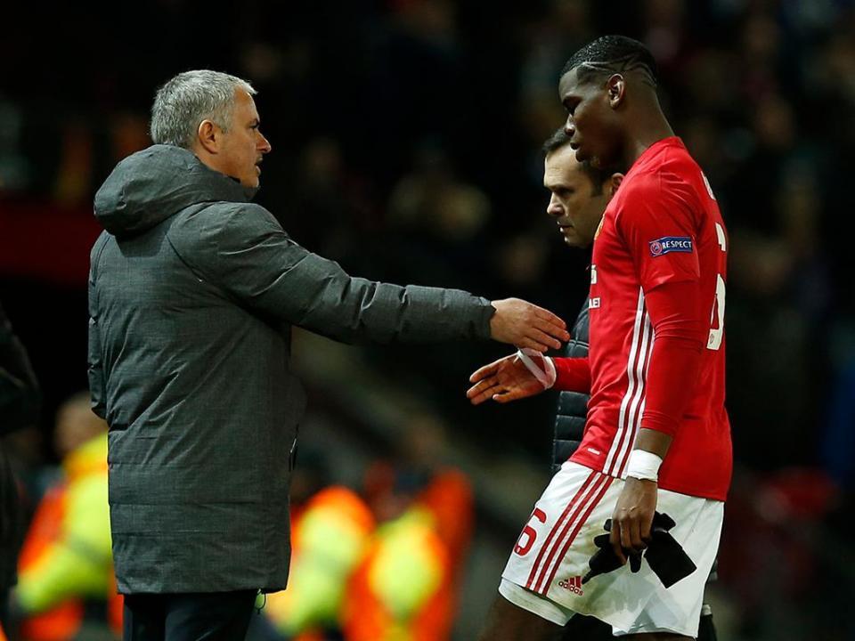 VÍDEO: ambiente tenso entre Mourinho e Pogba no treino