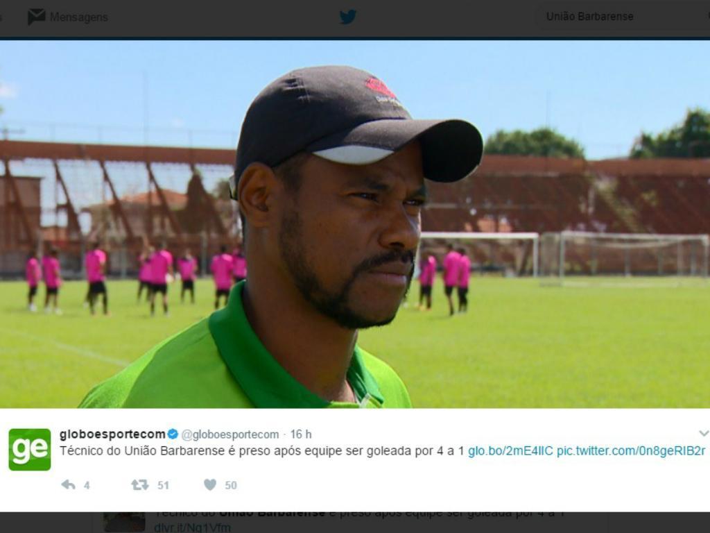 Brasil: treinador perdeu e ainda foi preso no final do jogo