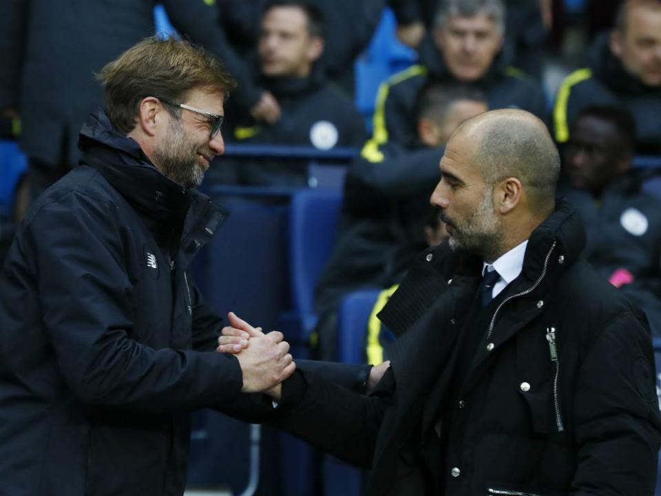 Klopp: «Não há grande diferença entre mim e Guardiola»