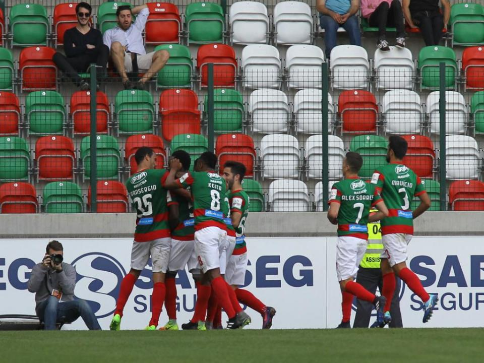 Marítimo-Arouca, 3-1 (resultado final)