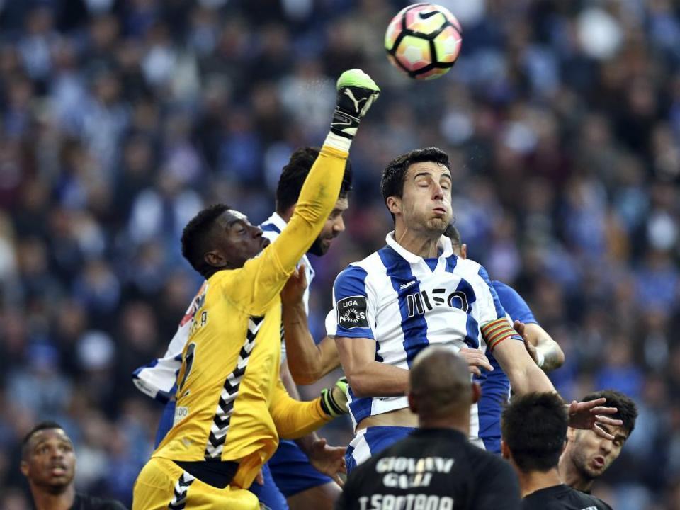 FC Porto-V. Setúbal, 1-1 (resultado final)