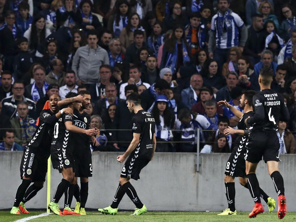 V. Setúbal vai ser a única equipa invencível contra Benfica e FC Porto
