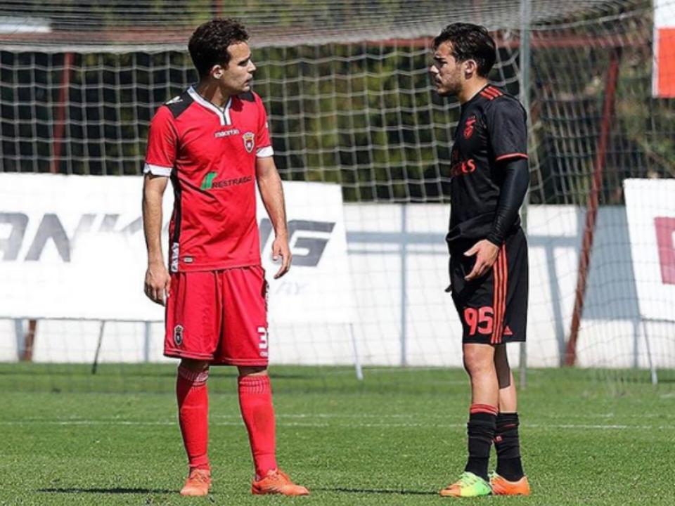 Irmãos Ribeiro: formados no Benfica e agora rivais na II Liga