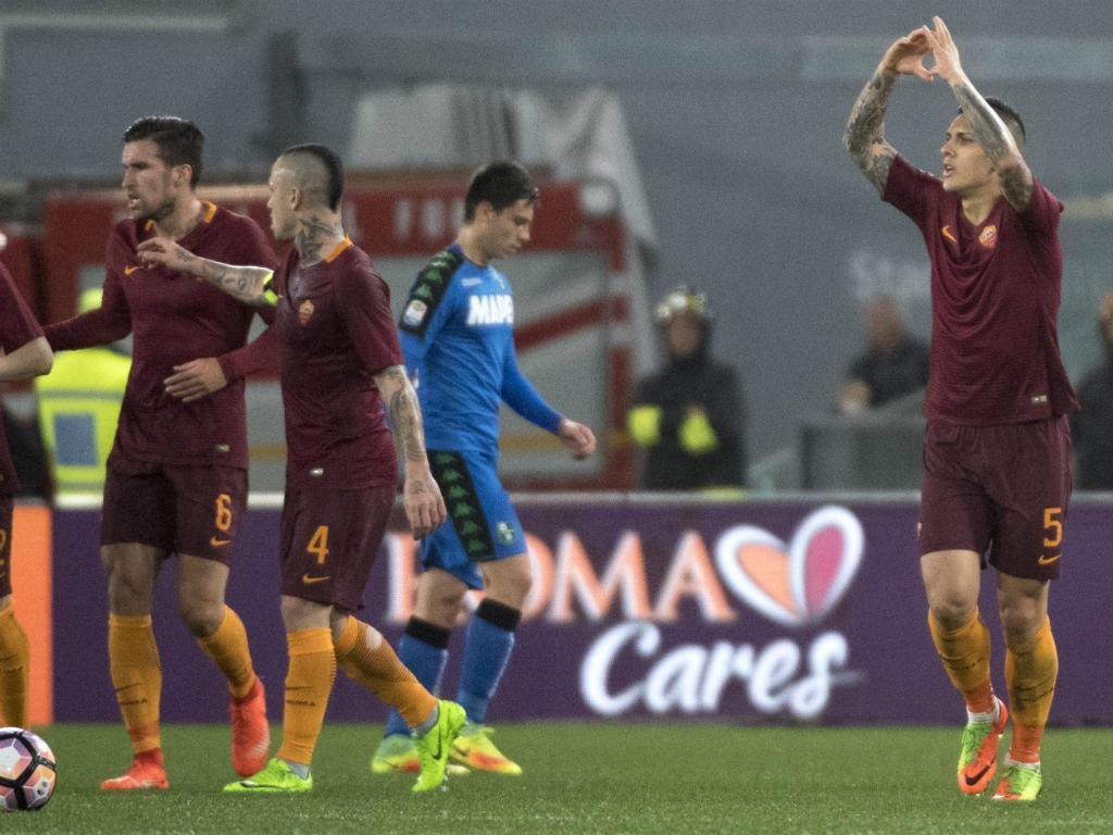Salah embala Roma para reviravolta frente ao Sassuolo