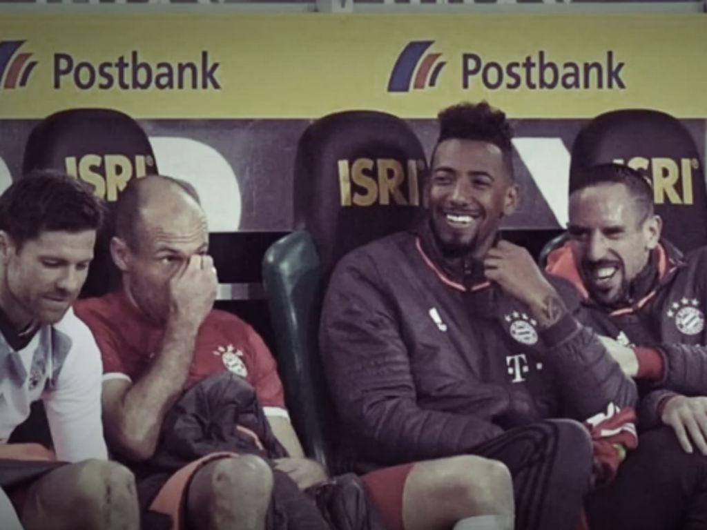 Robben foi substituído por Renato Sanches, fez birra e provocou risos