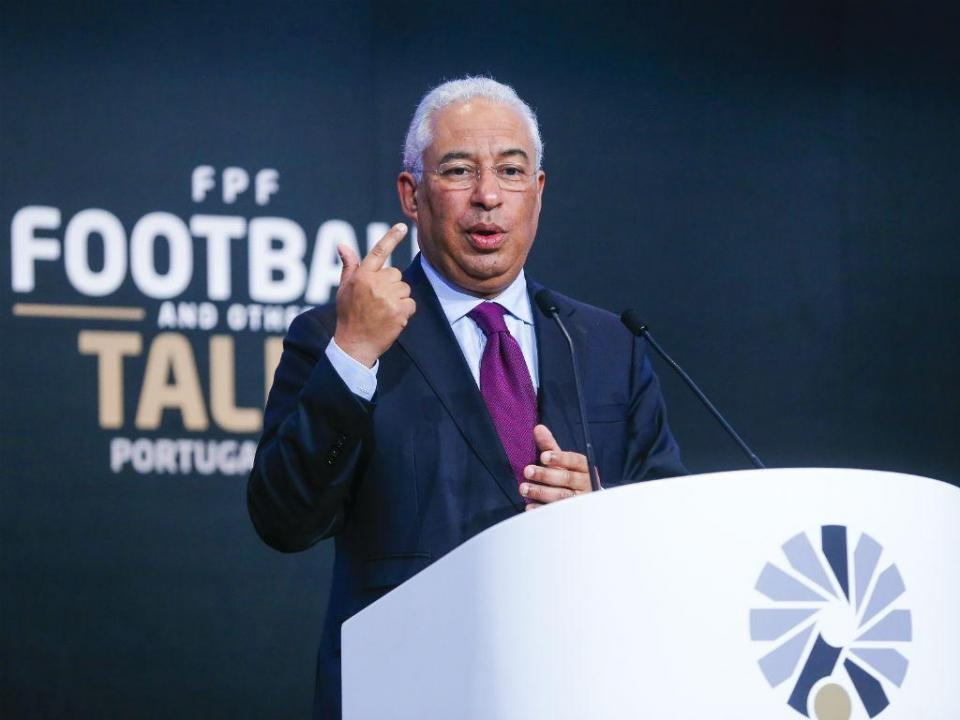 Costa anuncia criação de autoridade nacional contra violência desportiva