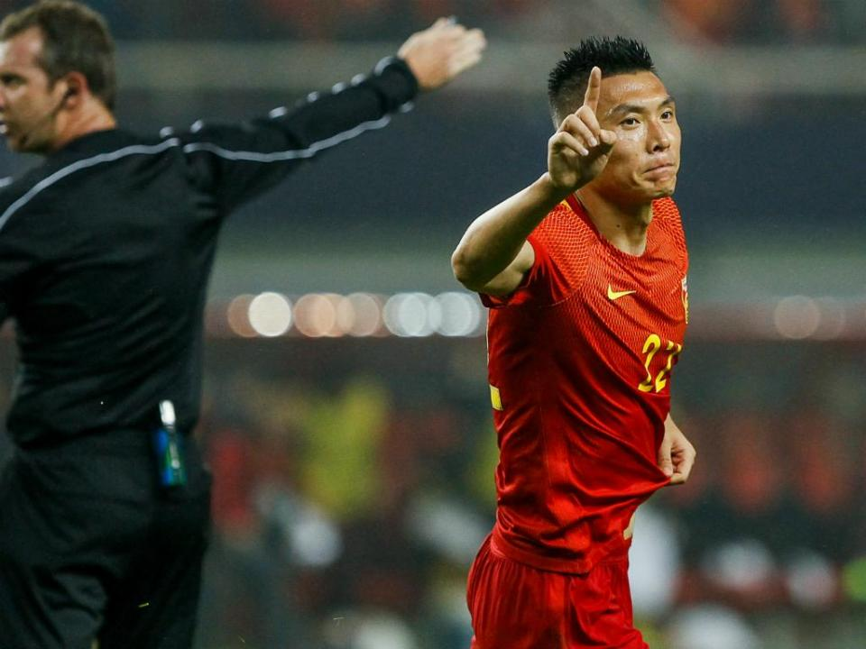 VÍDEO: China vence no arranque da Taça Asiática graças a ex-Benfica